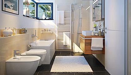Badezimmer sanierung  Johann Zitzler - Referenzen Heizung- und Solartechnik